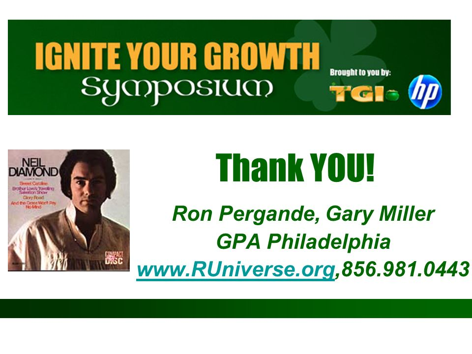 Ron Pergande, Gary Miller