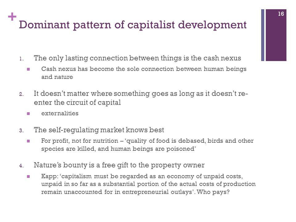 Dominant pattern of capitalist development