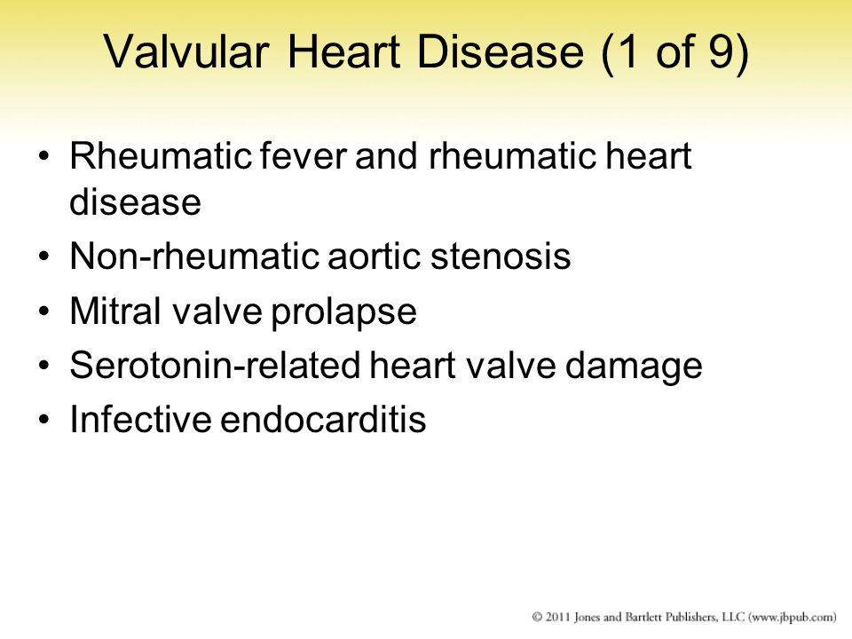 Valvular Heart Disease (1 of 9)