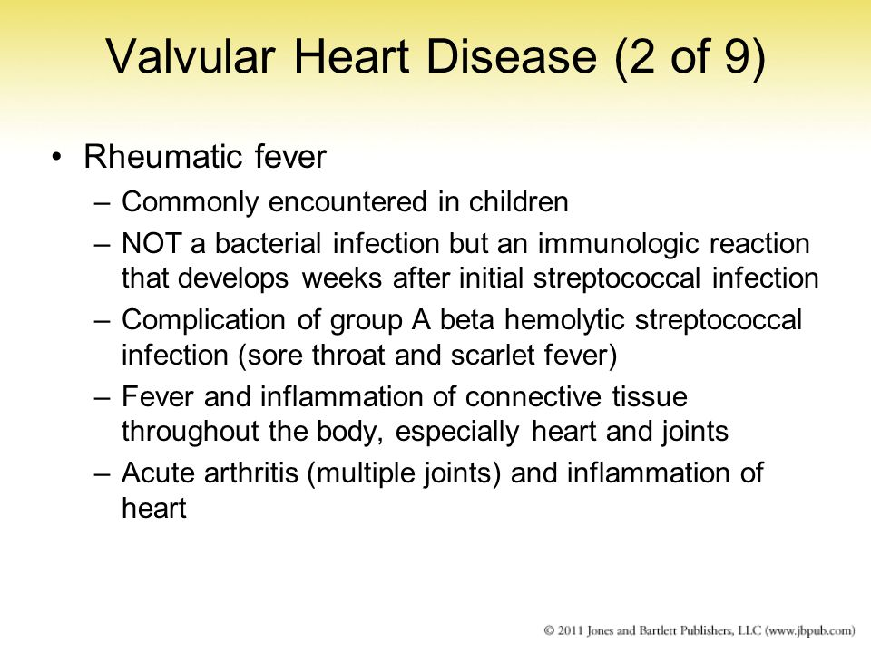 Valvular Heart Disease (2 of 9)