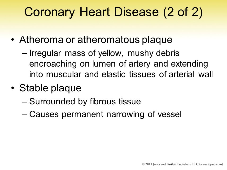Coronary Heart Disease (2 of 2)