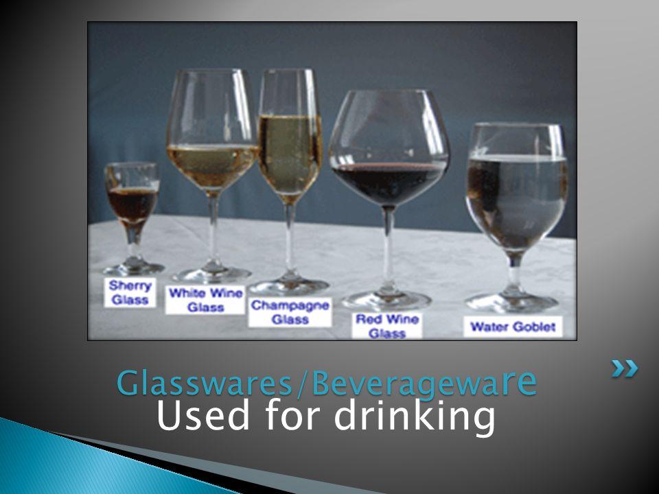 Glasswares/Beverageware