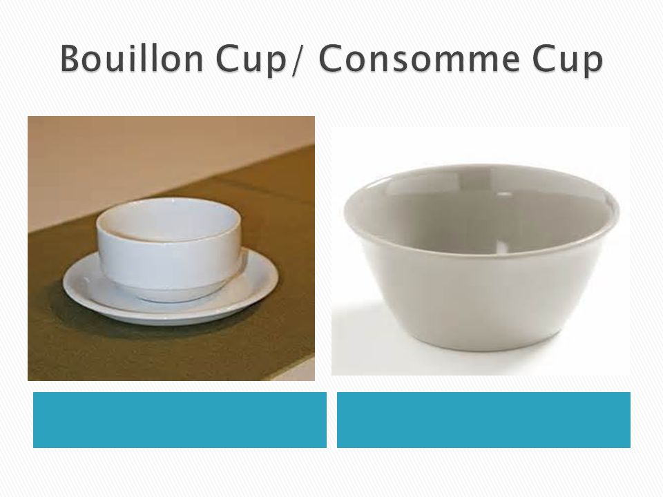 Bouillon Cup/ Consomme Cup