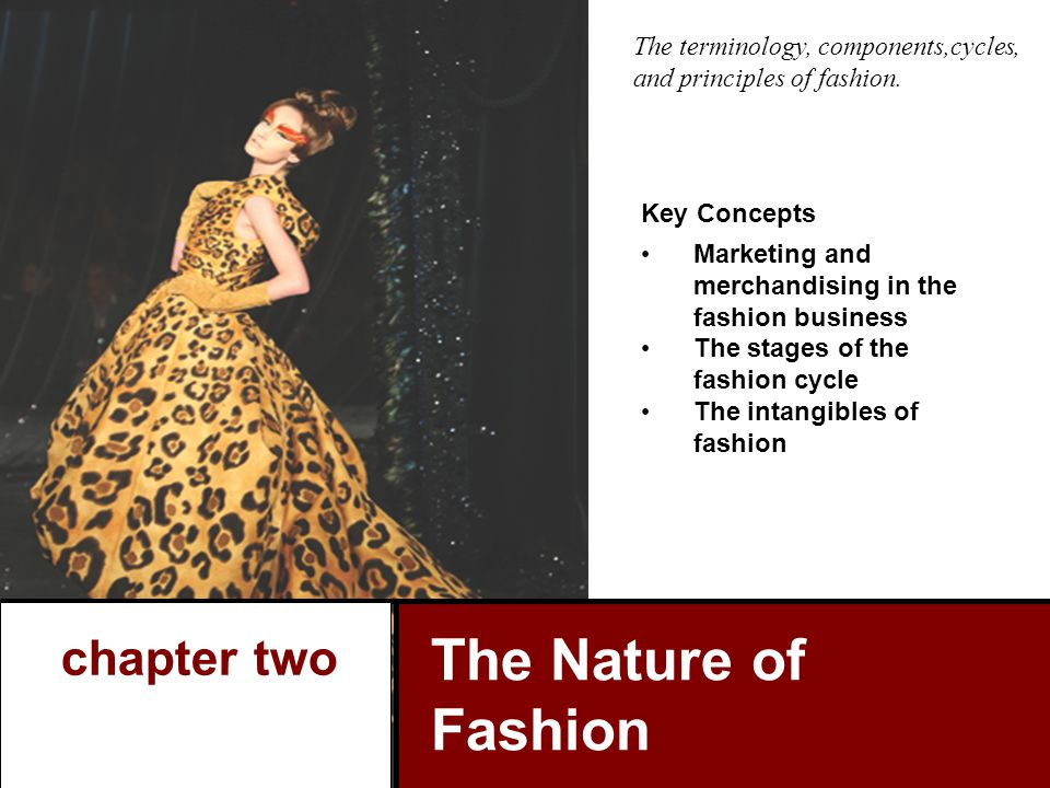 The Nature of Fashion chapter two