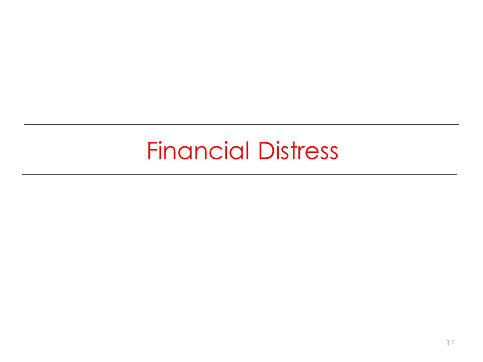 Financial Distress 17