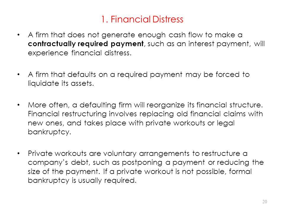 1. Financial Distress