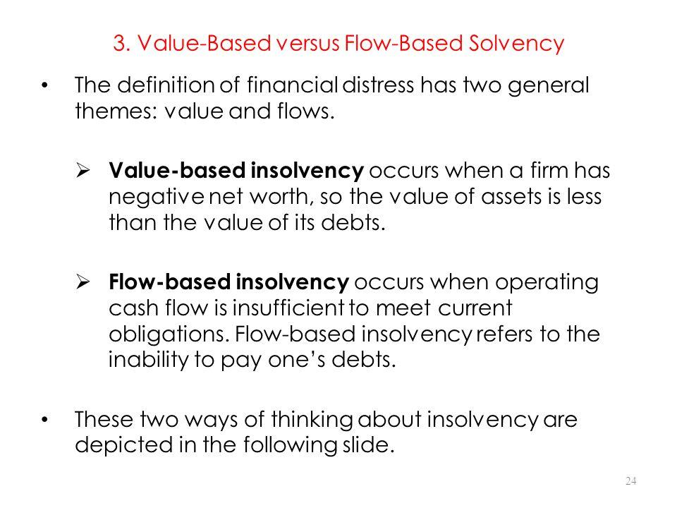 3. Value-Based versus Flow-Based Solvency