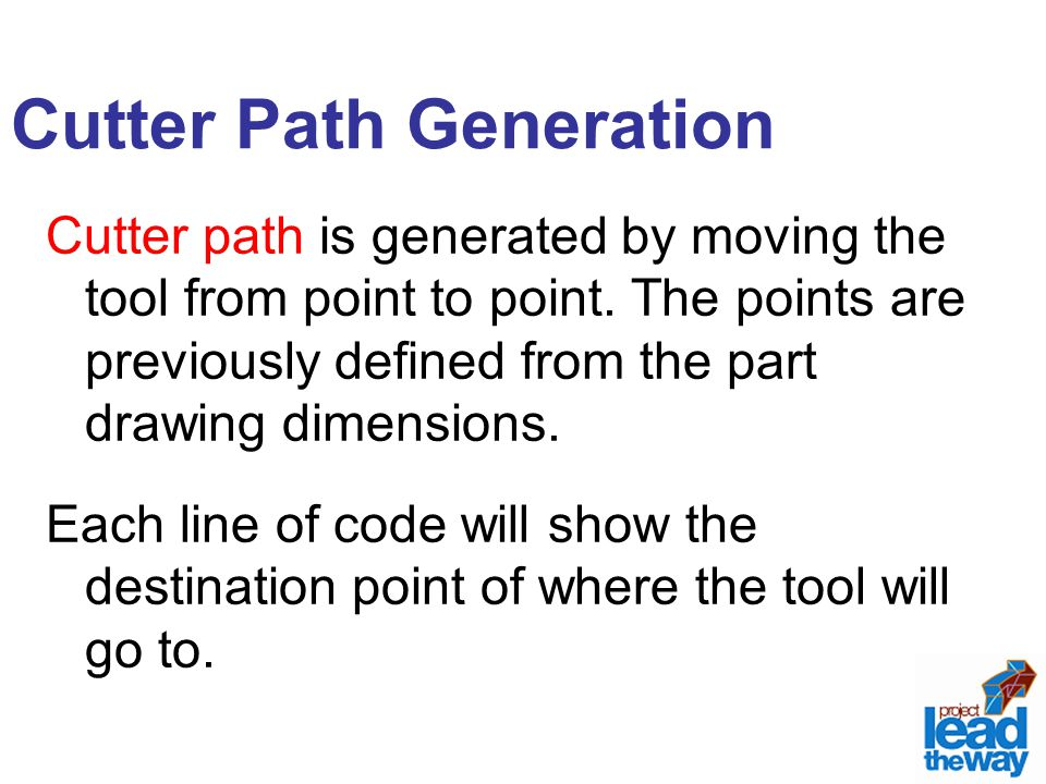 Cutter Path Generation