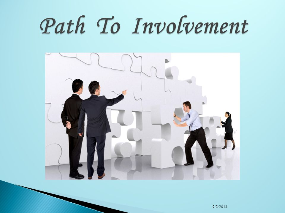 Path To Involvement 4/6/2017