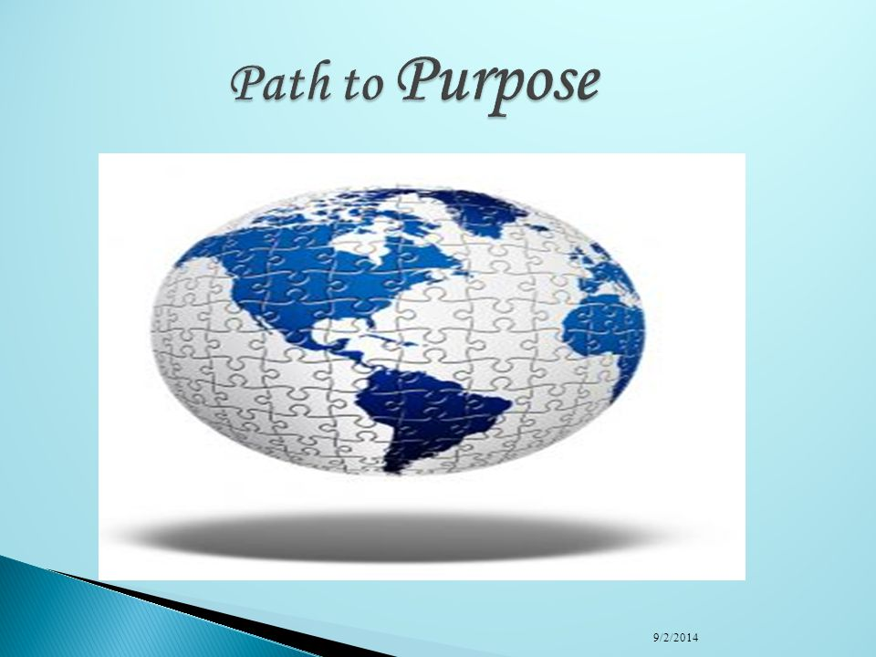 Path to Purpose 4/6/2017