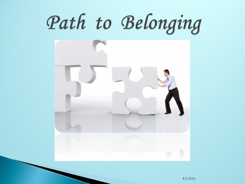 Path to Belonging 4/6/2017