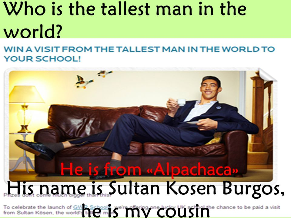 Who is the tallest man in the world