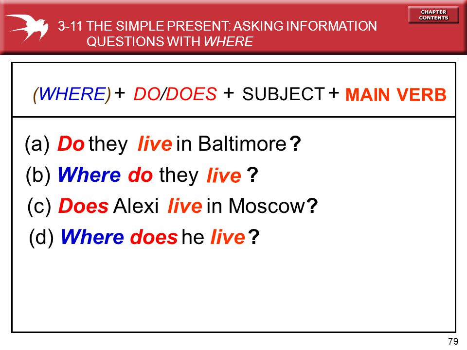+ + + (a) in Baltimore Do they live do they live (c) in Moscow