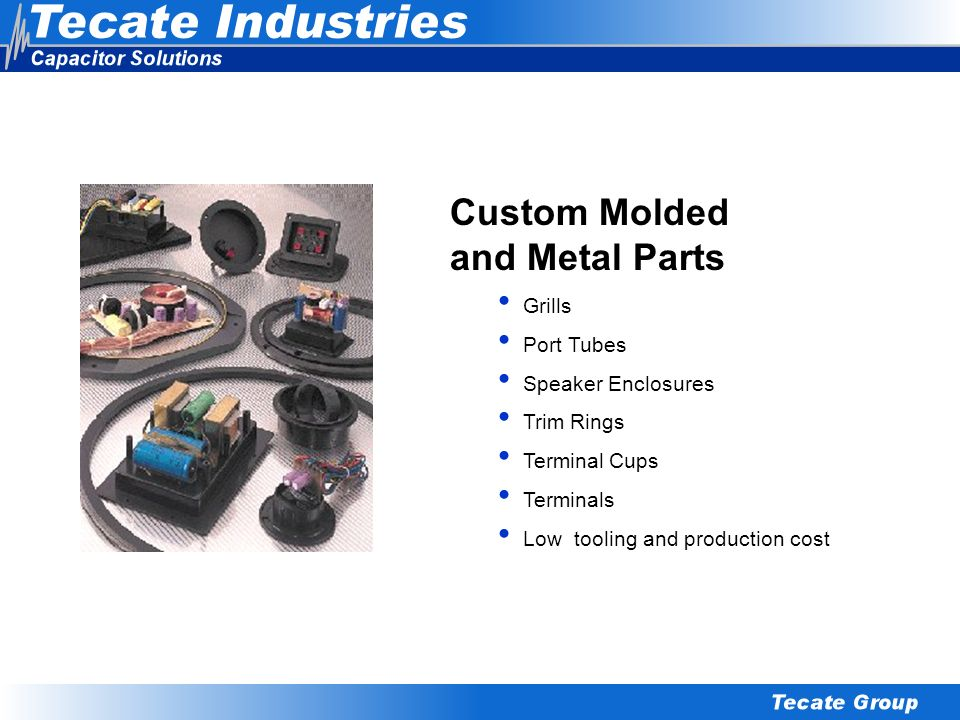 Custom Molded and Metal Parts