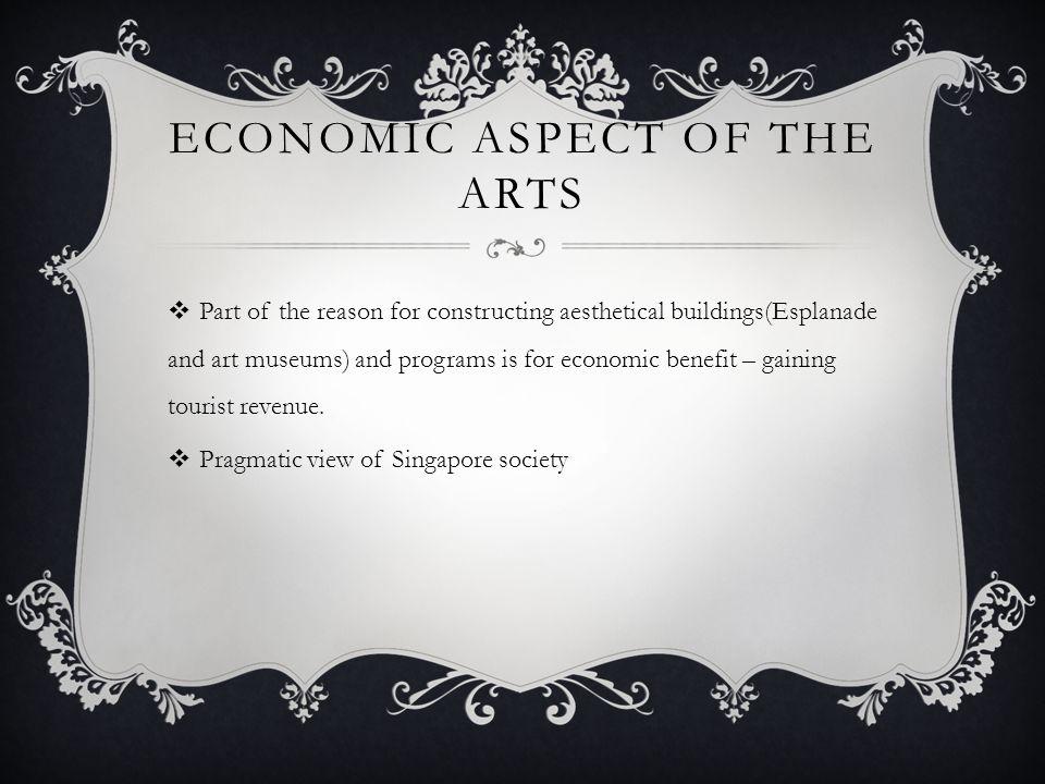Economic aspect of the arts