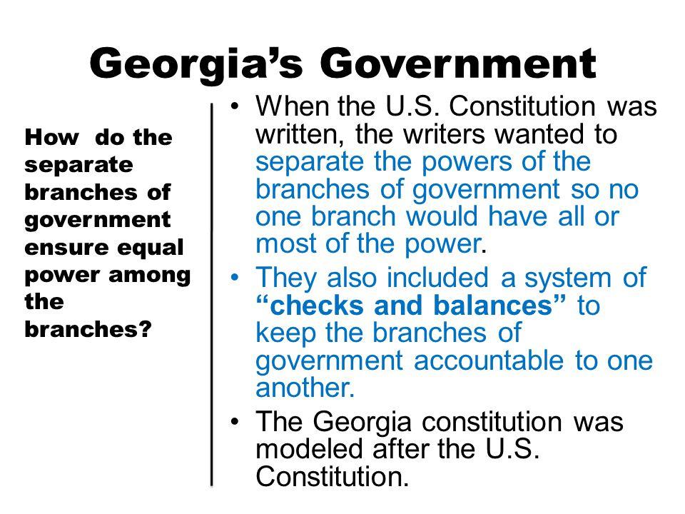 Georgia's Government