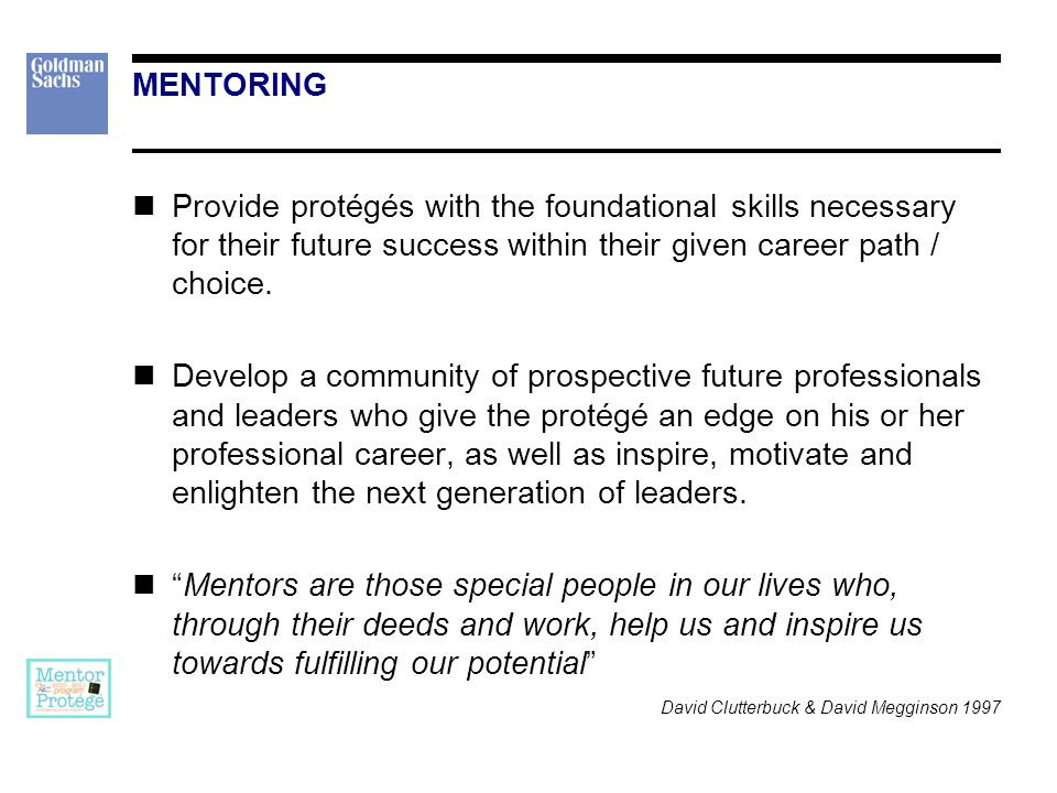 MENTORING IS… A partnership. Confidential. Positive development activity. Understanding and trust.