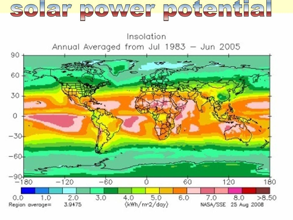 solar power potential