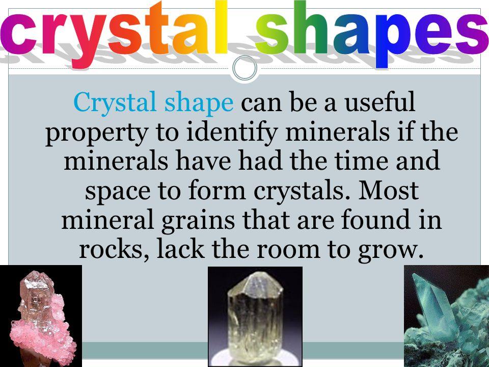 crystal shapes
