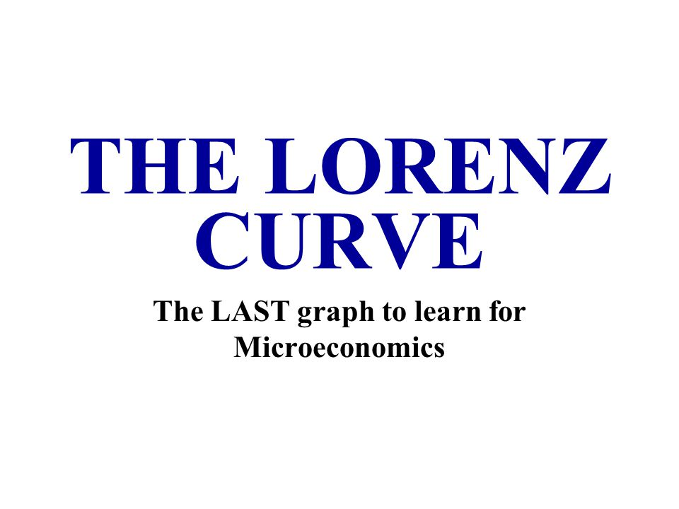 The LAST graph to learn for Microeconomics