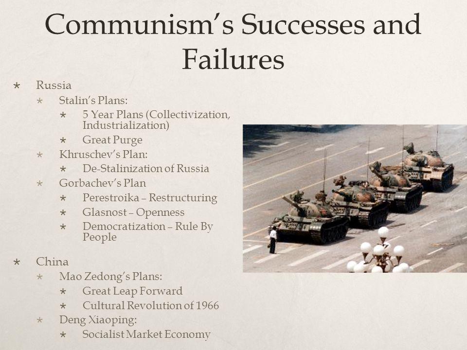 Communism's Successes and Failures