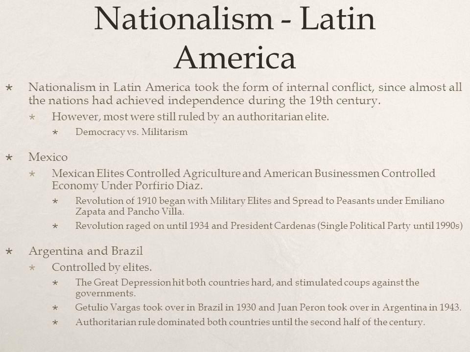 Nationalism - Latin America