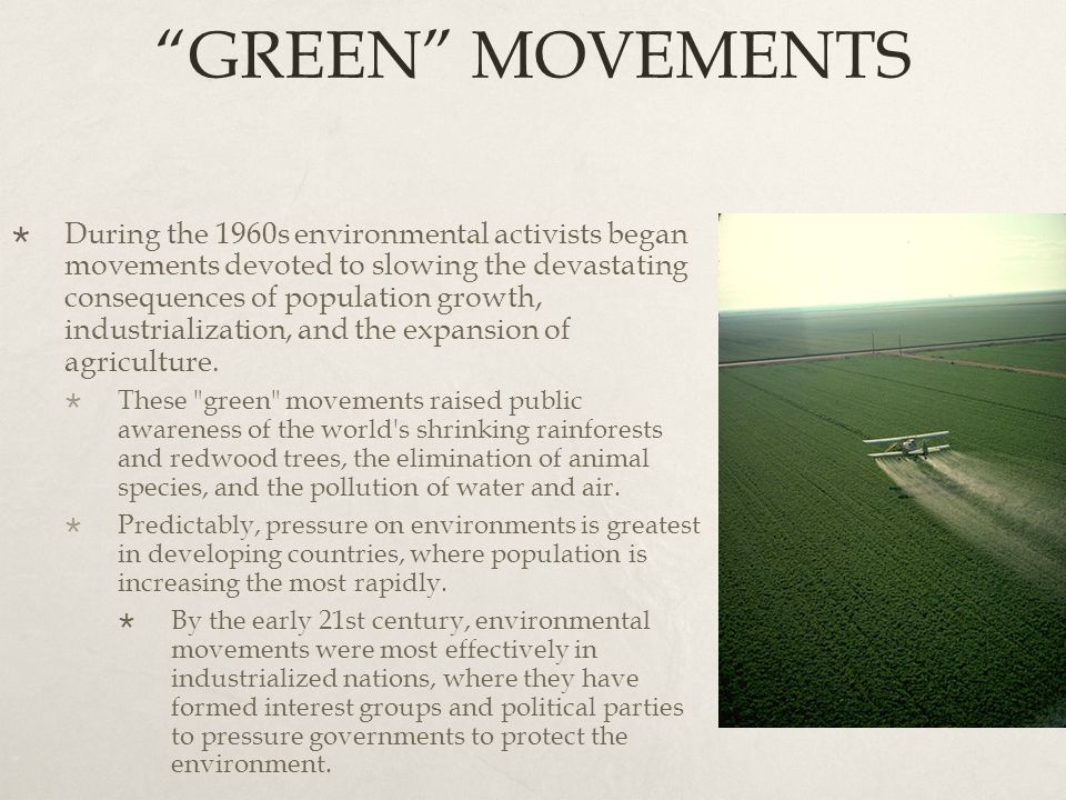 GREEN MOVEMENTS