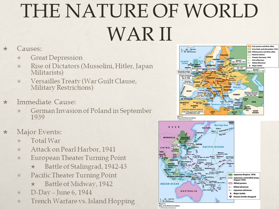 THE NATURE OF WORLD WAR II