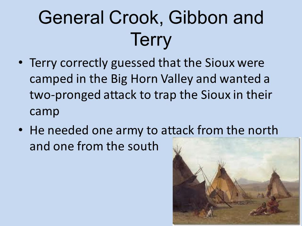 General Crook, Gibbon and Terry