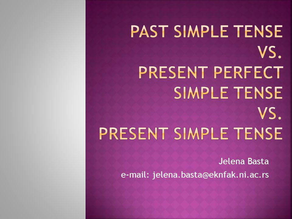 Jelena Basta e-mail: jelena.basta@eknfak.ni.ac.rs