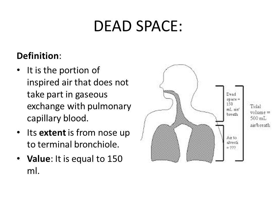 DEAD SPACE: Definition: