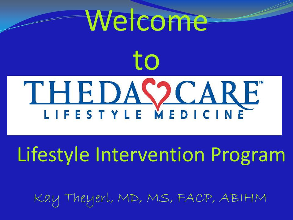 Welcome to Lifestyle Intervention Program