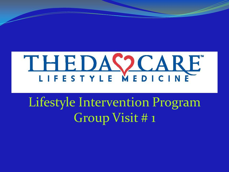 Lifestyle Intervention Program