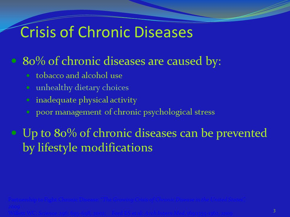 Crisis of Chronic Diseases