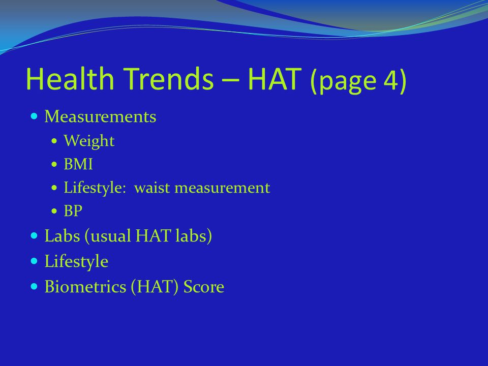 Health Trends – HAT (page 4)