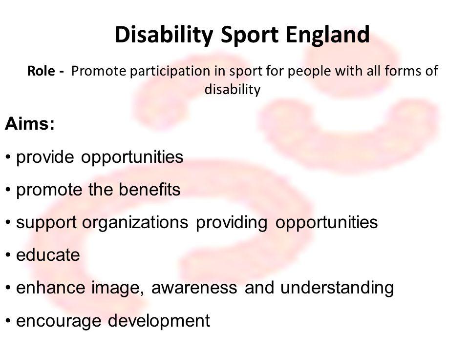 Disability Sport England