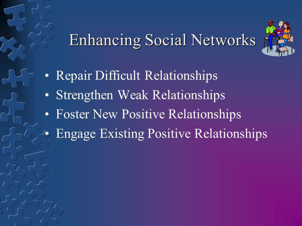 Enhancing Social Networks