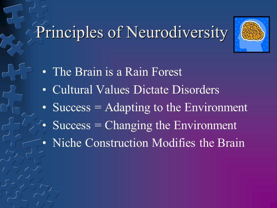 Principles of Neurodiversity