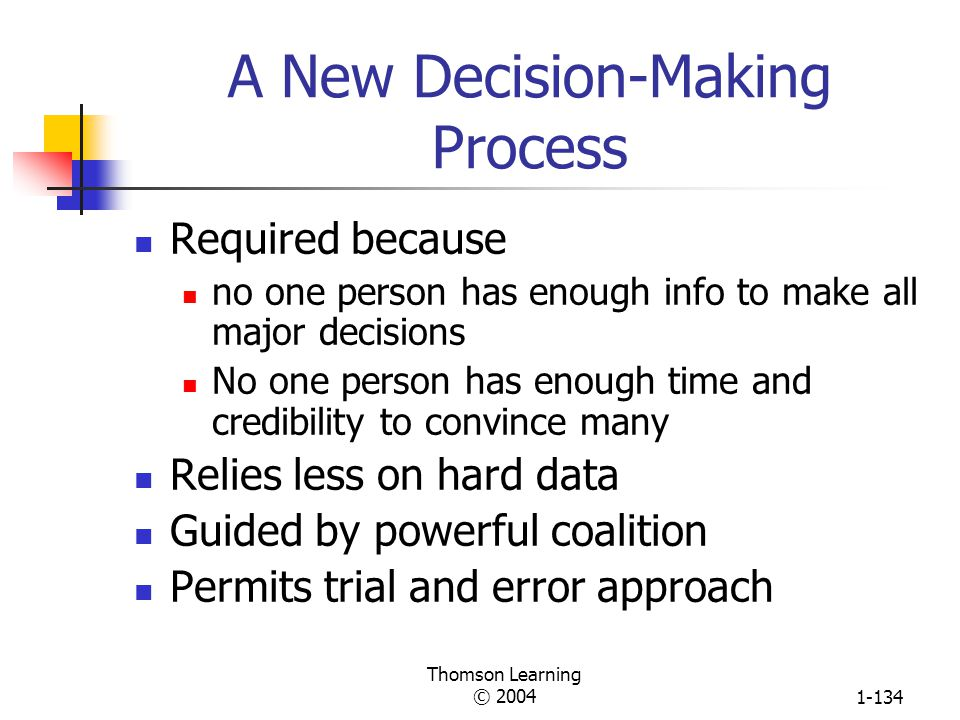A New Decision-Making Process
