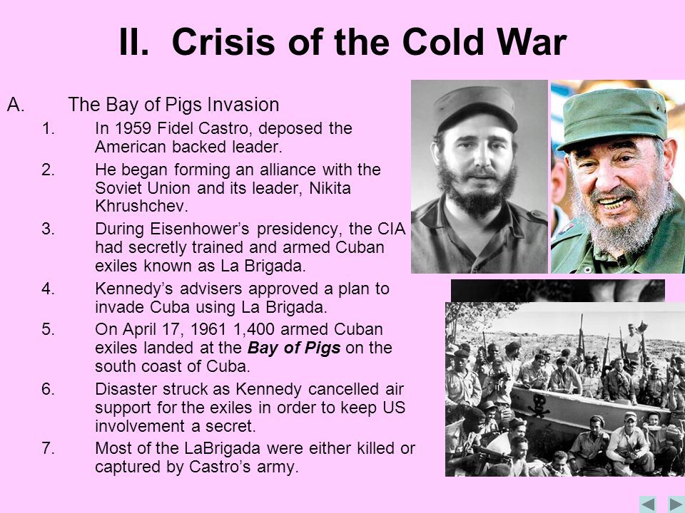 II. Crisis of the Cold War