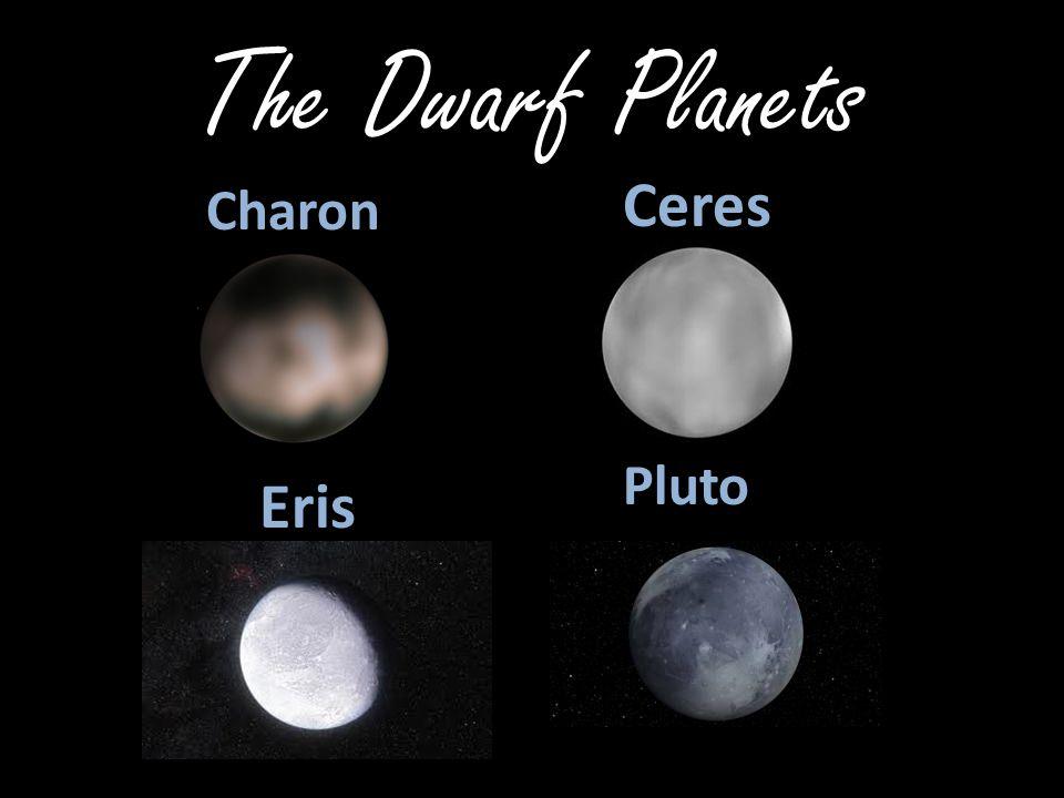 The Dwarf Planets Ceres Charon Pluto Eris