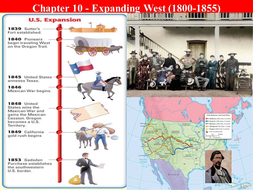 Chapter 10 - Expanding West (1800-1855)