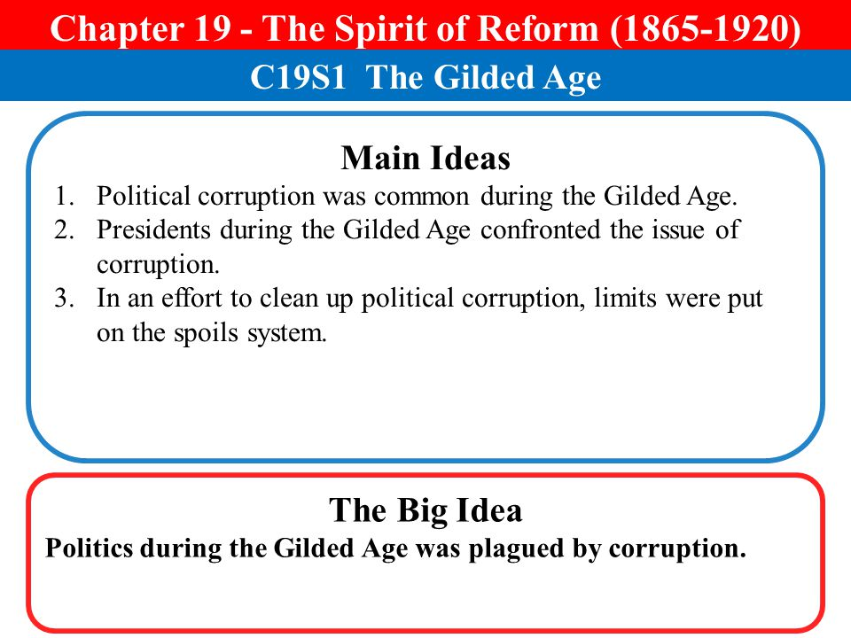 Chapter 19 - The Spirit of Reform ( )