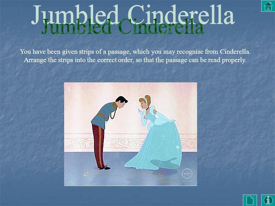 Jumbled Cinderella