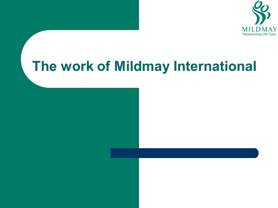 The work of Mildmay International