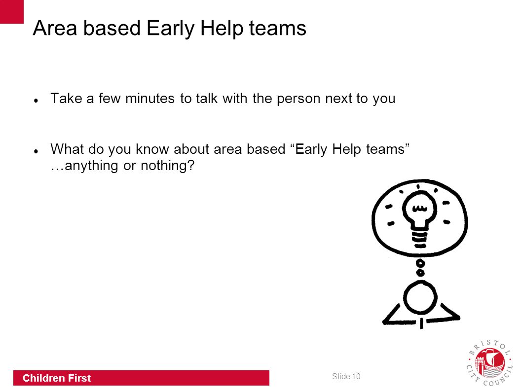 Area based Early Help teams