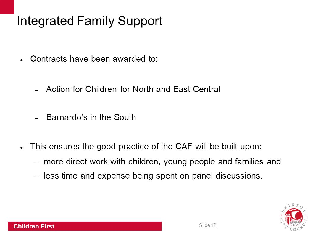 Integrated Family Support