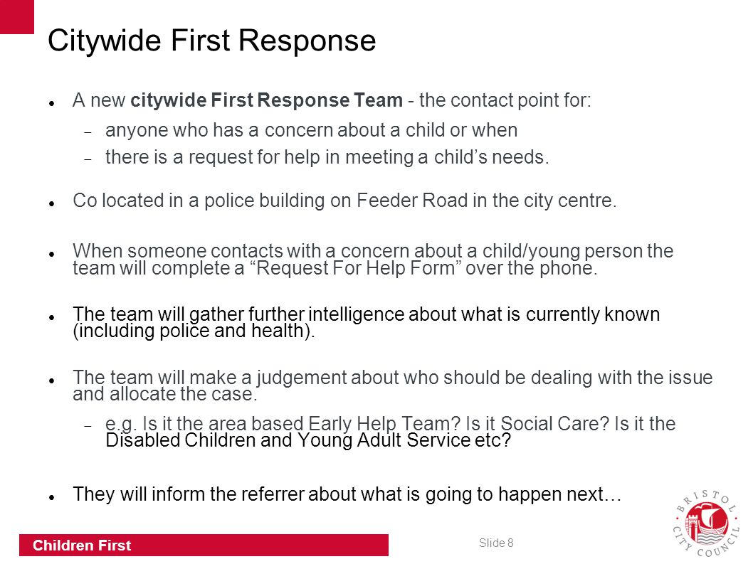 Citywide First Response