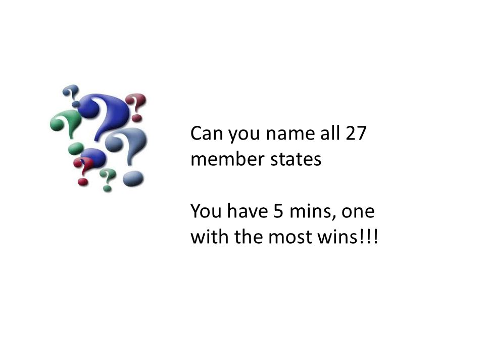 Can you name all 27 member states