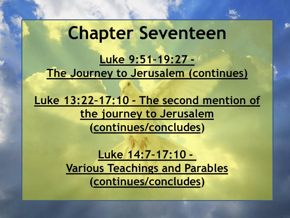 Chapter Seventeen